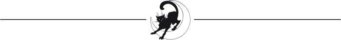 Black Cat divider