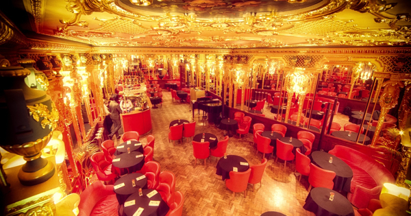 The Oscar Wilde Bar at Hotel Café Royal