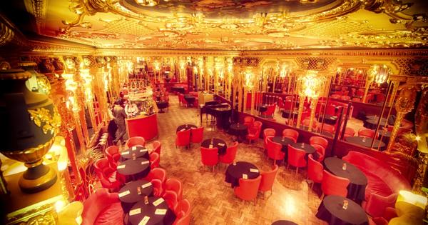 The Oscar Wilde Bar at Hotel Café Royal