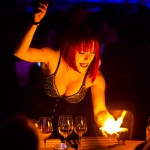 Fire of London - Laura London does card tricks