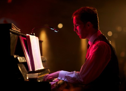 Michael Roulston at the piano